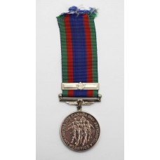 WW2 Canadian Volunteer Service Medal with Overseas Service Bar