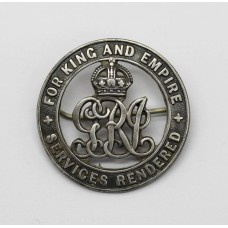 WW1 Silver War Badge (No. 95778) - Pte. A. Seabrook, Bedfordshire Regiment (Only Entitlement)