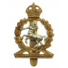 Royal Army Veterinary Corps (R.A.V.C.) Cap Badge - King's Crown