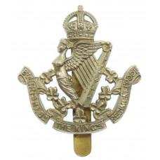 8th (Irish) Bn. King's Liverpool Regiment Cap Badge - King's Crow