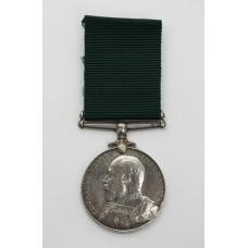 Edward VII Volunteer Long Service & Good Conduct Medal - Cpl.