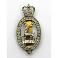 Hertfordshire Yeomanry Cap Badge - Queen's Crown
