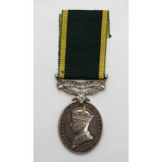 George VI Territorial Efficiency Medal - Spr. G. Singer, Royal En