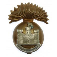 Royal Inniskilling Fusiliers Cap Badge (Flag Right)