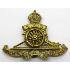 Honourable Artillery Company (H.A.C.) Artillery Cap Badge - King's Crown