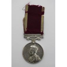 George V Long Service & Good Conduct Medal - Gnr. A.V. Shirley, Royal Artillery