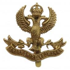 Lanarkshire Yeomanry Cap Badge - King's Crown