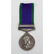 Campaign Service Medal (Clasp - Borneo) - PC. Colony Ak Genaldi,