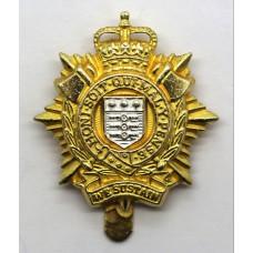 Royal Logistic Corps (R.L.C.) Cap Badge