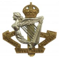 8th King's Royal Irish Hussars Cap Badge - King's Crown