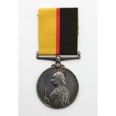 Queen's Sudan Medal - Pte. A. Johnson, 1st Bn. Lincolnshire Regiment