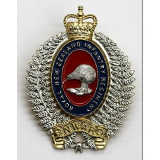 Royal New Zealand Infantry Regiment Anodised (Staybrite) Cap Badge