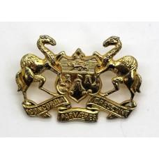 Merchant Taylors School C.C.F. Cap Badge