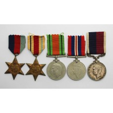 WW2 and RAF Long Service & Good Conduct Medal Group of Five - F.Sgt. P.R. Horton, Royal Air Force