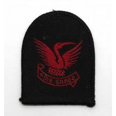 Stamford School C.C.F. Cloth Beret Badge