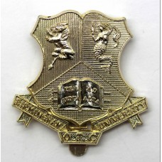 Birmingham University O.T.C. Anodised (Staybrite) Cap Badge