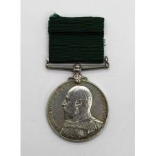 Edward VII Royal Naval Reserve Long Service & Good Conduct Medal - Seaman 1st Cl. H. Hobbs, Royal Naval Reserve
