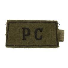 Pioneer Corp (P.C.) WW2 Cloth Slip On Shoulder Title