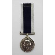 George V Royal Navy Long Service & Good Conduct Medal - F.W.G