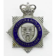 Leicester & Rutland Constabulary Senior Officer's Enamelled C
