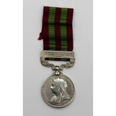 1895 India General Service Medal (Clasp - Relief of Chitral 1895)