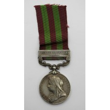 1895 India General Service Medal (Clasp - Punjab Frontier 1897-98) - Sepoy Chaudbra, 1st Sikh Infantry