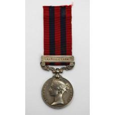 1854 India General Service Medal (Clasp - Hazara 1888) - Sepoy Bhagu, 2nd Sikh Infantry
