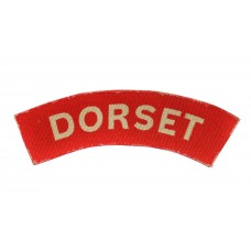Dorset Regiment (DORSET) WW2 Printed Shoulder Title