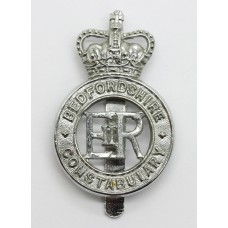 Bedfordshire Constabulary Cap Badge - Queen's Crown