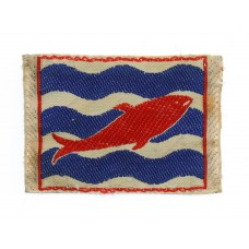 2nd Corps Silk Embroidered Cloth Formation Sign