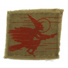 2nd Anti-Aircraft Division WW2 Printed Formation Sign (1st Patter