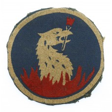 219th Independent Infantry Brigade Painted Formation Sign