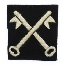 2nd Infantry Division Cloth Formation Sign