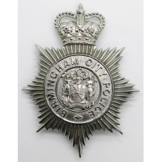 Birmingham City Police Helmet Plate - Queen's Crown