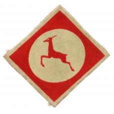 13th Corps & British Element Trieste Force Printed Formation Sign