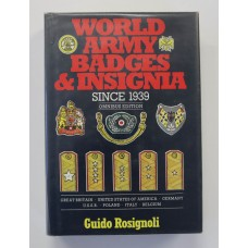 Book - World Army Badges and Insignia since 1939