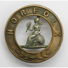 Norfolk Regiment Bi-Metal Helmet Plate Centre