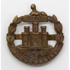 Dorsetshire Regiment Officer's Service Dress Cap Badge