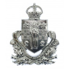 Paisley Burgh Police Cap Badge - King's Crown