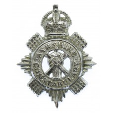 Ayrshire Constabulary Cap Badge - King's Crown