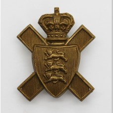 Victorian Royal Jersey Light Infantry Cap Badge