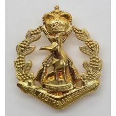 Royal Australian Regiment Cap Badge - Queen's Crown