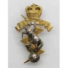 Royal Australian Electrical & Mechanical Engineers (R.A.E.M.E.) Cap Badge - Queen's Crown
