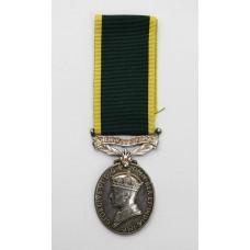 George VI Territorial Efficiency Medal - Lieut. G.G. Lawrance, Ro