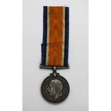 WW1 British War Medal - Pte. W. Attridge, Dorsetshire Regiment