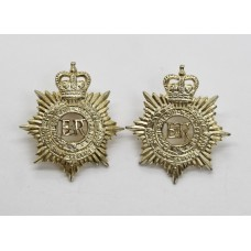 Pair of Royal Army Service Corps (R.A.S.C.) Anodised (Staybrite) Collar Badges