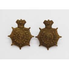 Pair of Victorian Army Service Corps (A.S.C.) Collar Badges.
