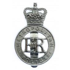 Metropolitan Police Cap Badge - Queen's Crown