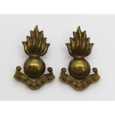 Pair of Royal Engineers Collar Badges