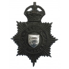 Essex Constabulary Night Helmet Plate - King's Crown